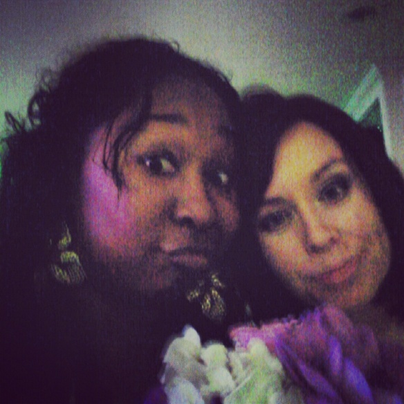 caught the bouquet...now what?!