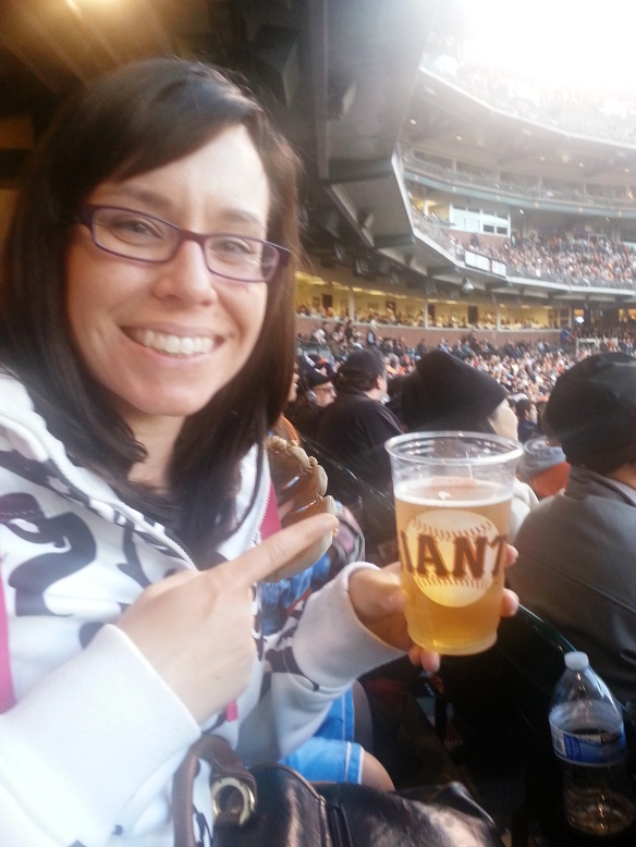 carb loading At&T park