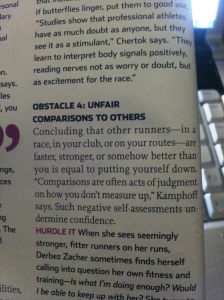Runner's World, Mental Muscle