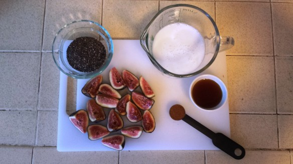 Maple Fig Chia Seed Pudding