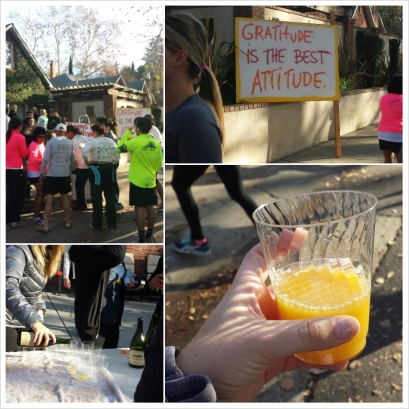 Run to Feed the Hungry mimosas