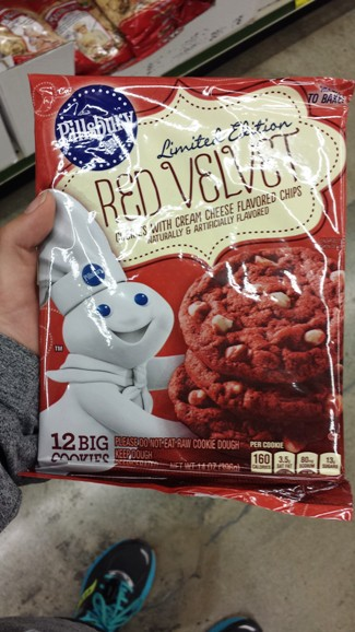 Pillsbury Red Velvet Cookies